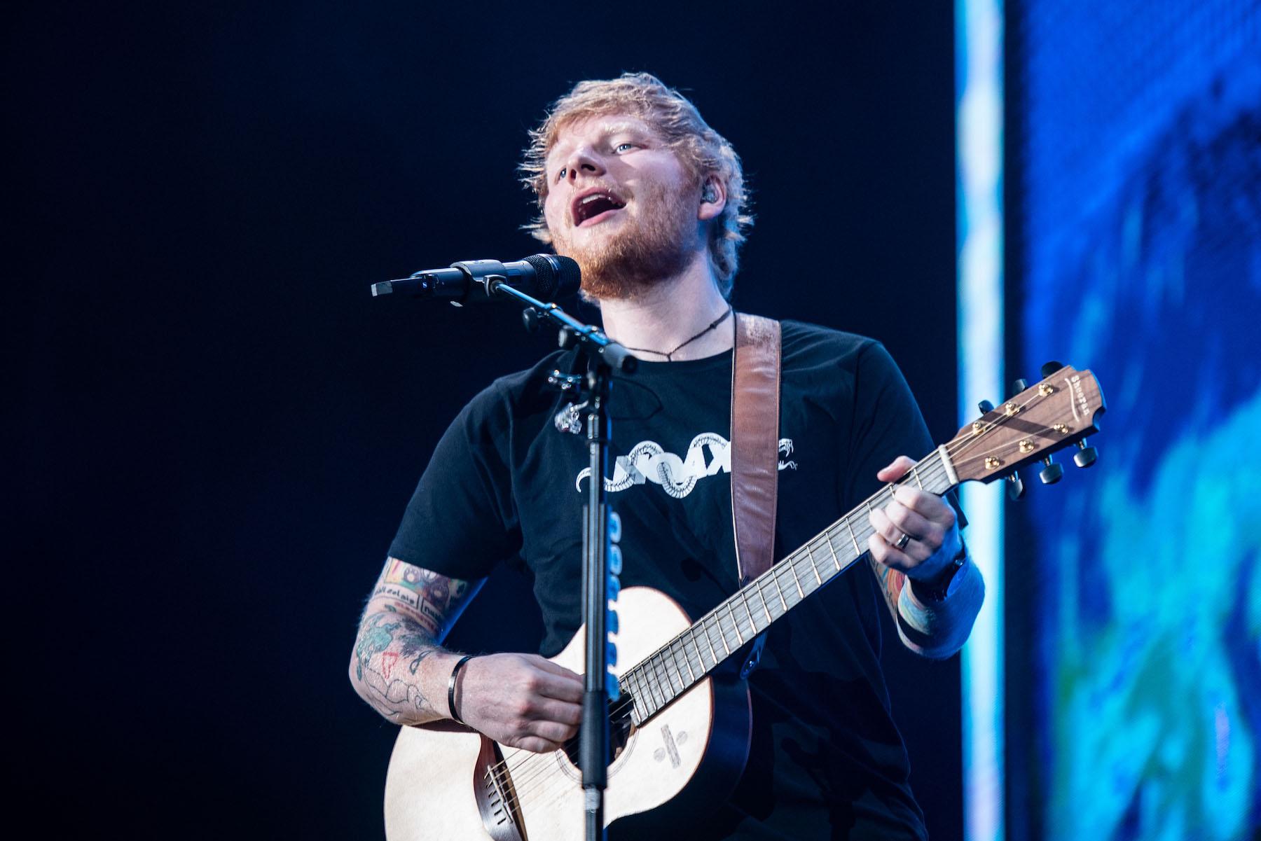 ed sheeran live in jakarta 2019