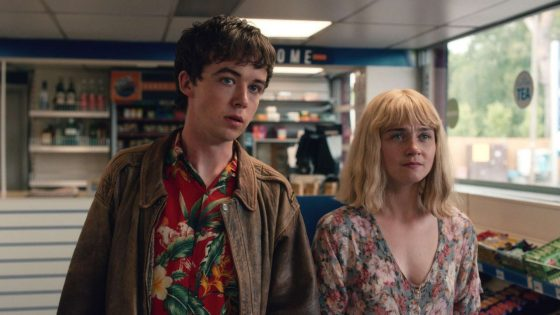 Alex Lawther and Jessica Barden in Season 1   Netflix
