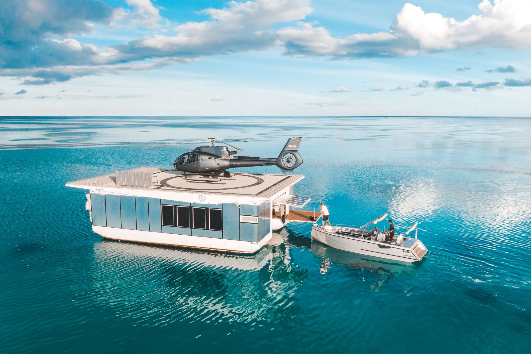 Heart Reef Pontoon Australia
