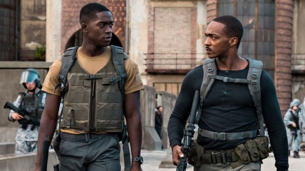 Outside The Wire Review