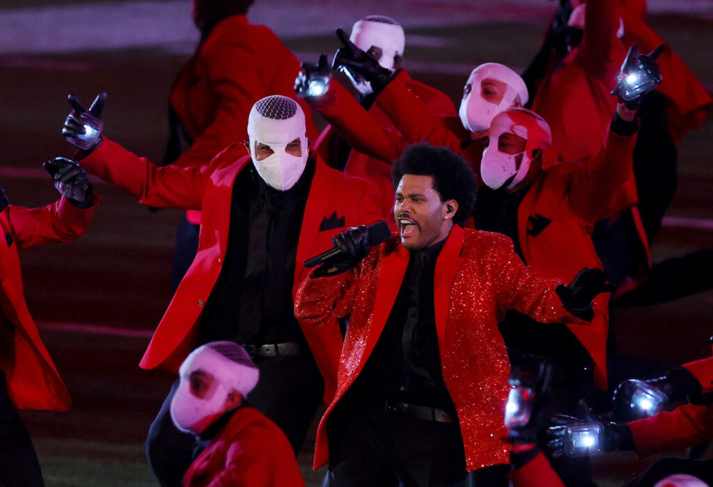 Super Bowl LV The Weeknd